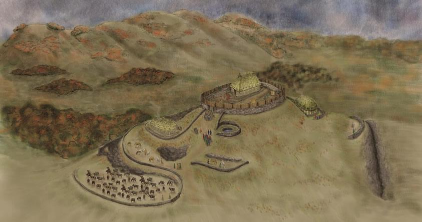 Reino perdido de la «Edad Oscura» ha sido descubierto en Escocia