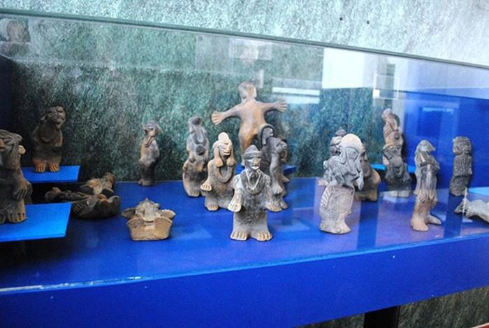 Figuritas humanoides de la colección de Acámbaro.