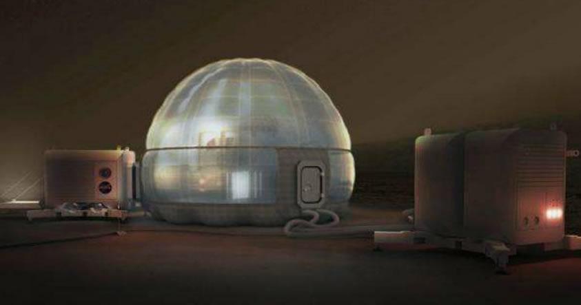 NASA lanza su más reciente concepto para «construir» casas en Marte
