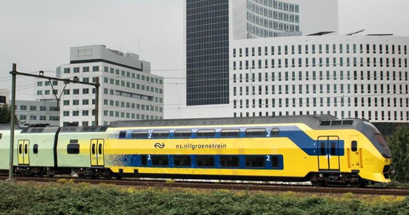Todos los trenes eléctricos en los Países Bajos son ahora 100% eólicos