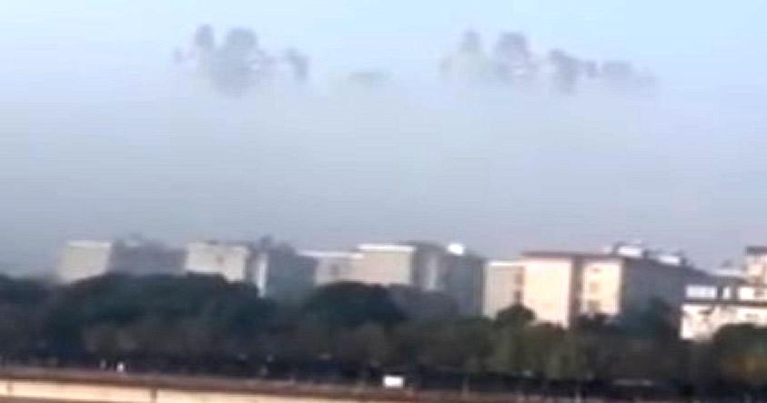 Nuevamente una «ciudad flotante» es observada y filmada por testigos en China
