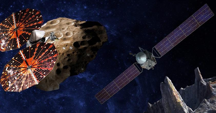 NASA enviará una misión a un asteroide metálico que podría ser el núcleo de un planeta muerto