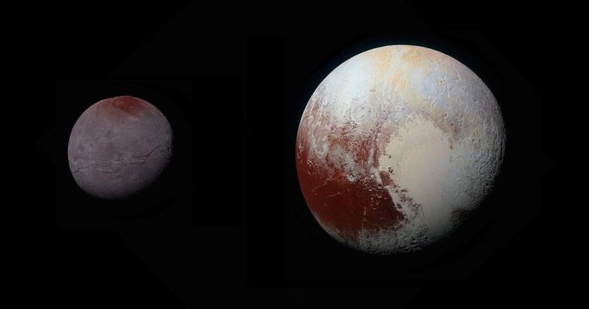 Caronte es el «blindaje protector» de Plutón contra el ataque del viento solar