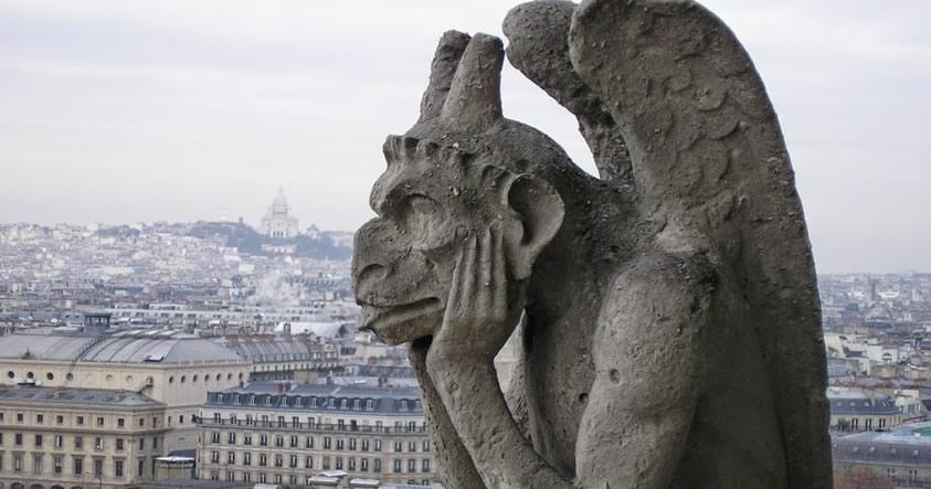 El origen de las Gárgolas Reptilianas ¿Una creación de los Anunnaki?