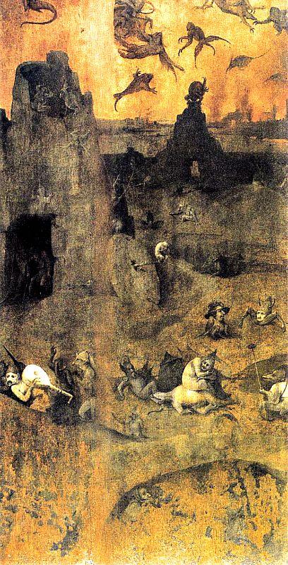 «La caída de los ángeles rebeldes», obra de El Bosco, está basada en Génesis 6,1–4