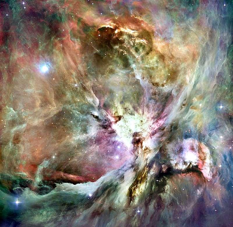 Nebulosa de Orión. Una de las hipótesis acerca del origen de los Nephilim asegura que proceden de Orión.