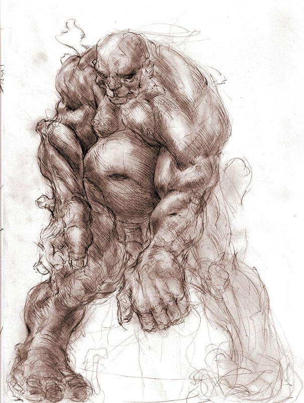 Pese a su total desaparición a manos de los israelitas, el recuerdo de los Nephilim, su gran poder y el temor que provocaban permanecieron incólumes con el paso del tiempo, inspirando a numerosos personajes mitológicos posteriores. Recreación artística de un gigante.