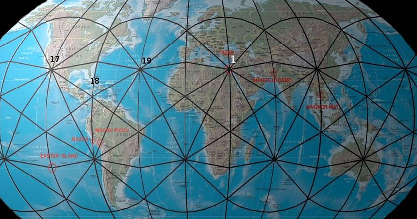 ¿Dónde se encuentran los puntos energéticos de la Tierra?