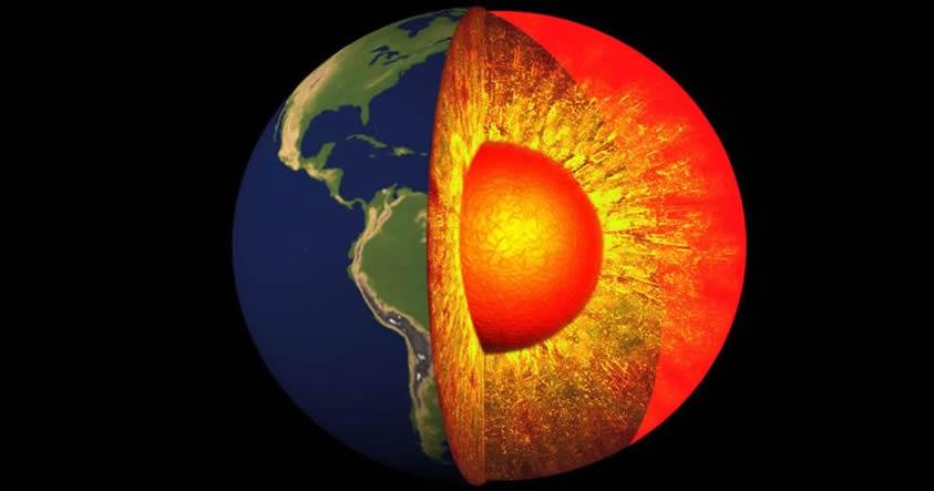 Científicos creen haber descubierto un misterioso tercer elemento en el núcleo de la Tierra