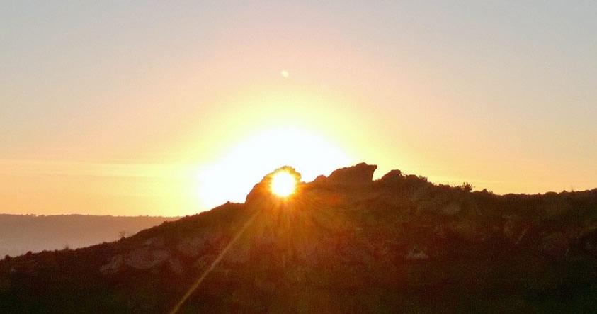Descubren antigua «Roca Calendario» que se alinea con el Solsticio de Invierno