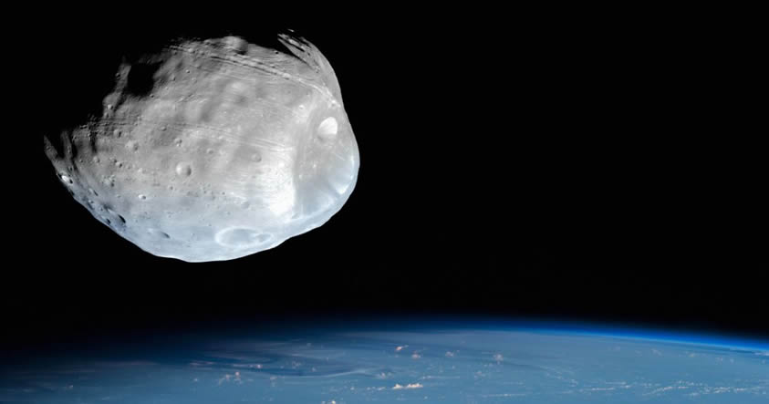 Astrónomos capturan en vídeo un asteroide que podría chocar con la Tierra