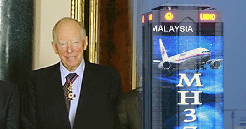 Rothschild hereda patente luego de que 4 co-propietarios desaparezcan en el MH 370