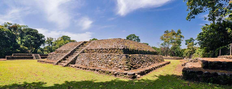 Ruinas de Izapa, Chiapas, México.