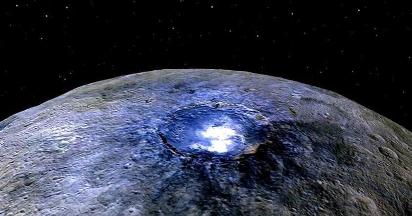 Descubren material orgánico en Ceres: Vida extraterrestre podría existir en el planeta enano