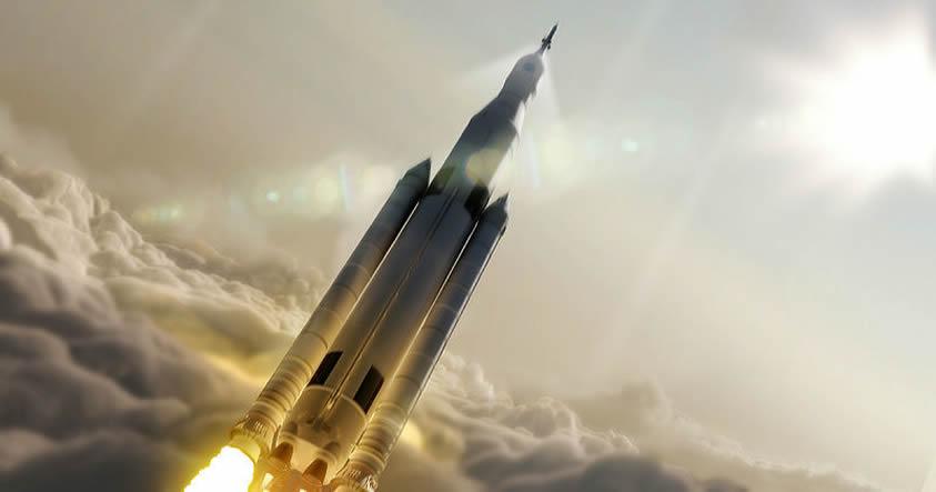 NASA considera enviar humanos en la primera misión de su cohete gigante a Marte