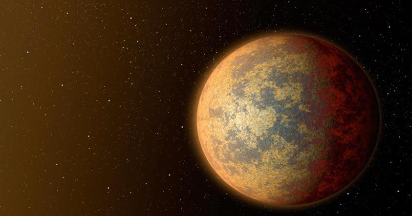 Recreación artística de HD 219134b, uno de los exoplanetas detectados