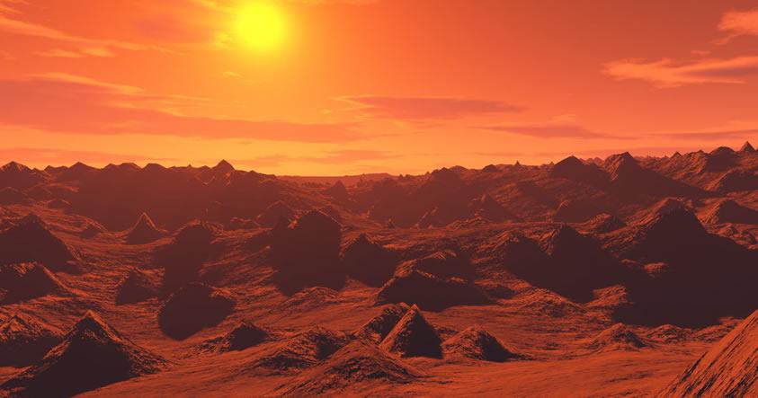 CIA publica archivos referidos a Pirámides y a una Civilización extinguida en Marte