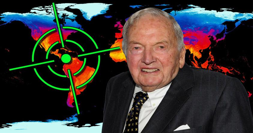 Los Rockefeller están preparando algo muy siniestro con el cambio climático