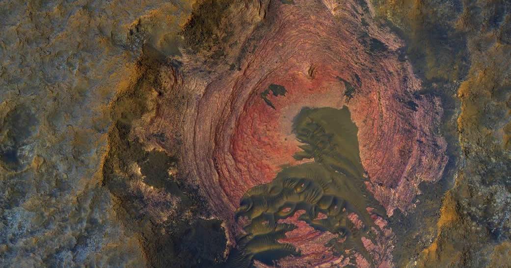 Dunas oscuras y llanuras: NASA ha publicado una «llamativa» foto de Marte