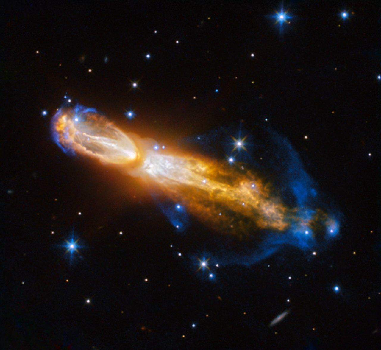 Telescopio Hubble captura la inquietante muerte de la «nebulosa del Huevo Podrido»