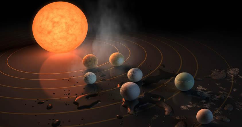 7 datos asombrosos sobre el sistema estelar Trappist-1 recién descubierto