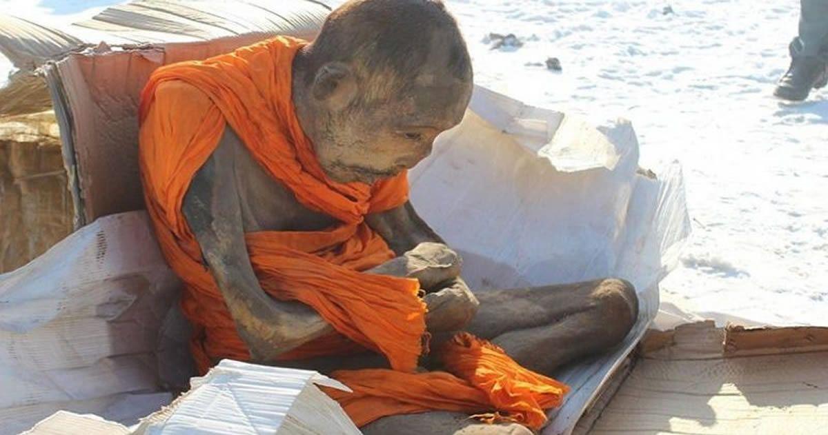 Las enigmáticas momias budistas