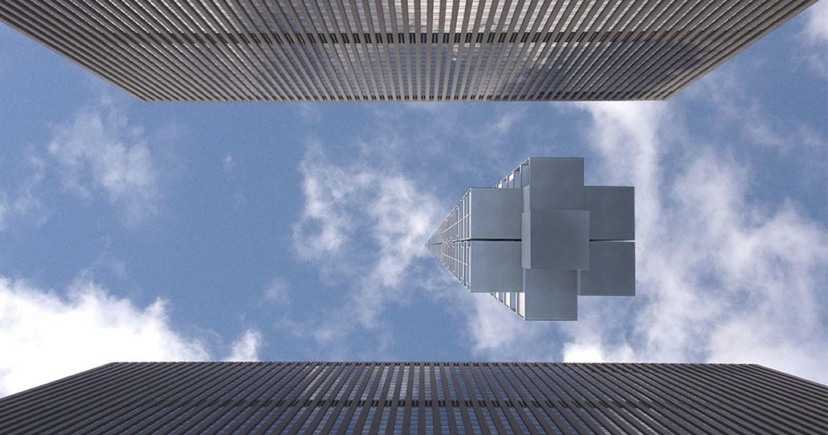 Arquitectos de EE.UU. planean construir un rascacielos que cuelgue de un asteroide