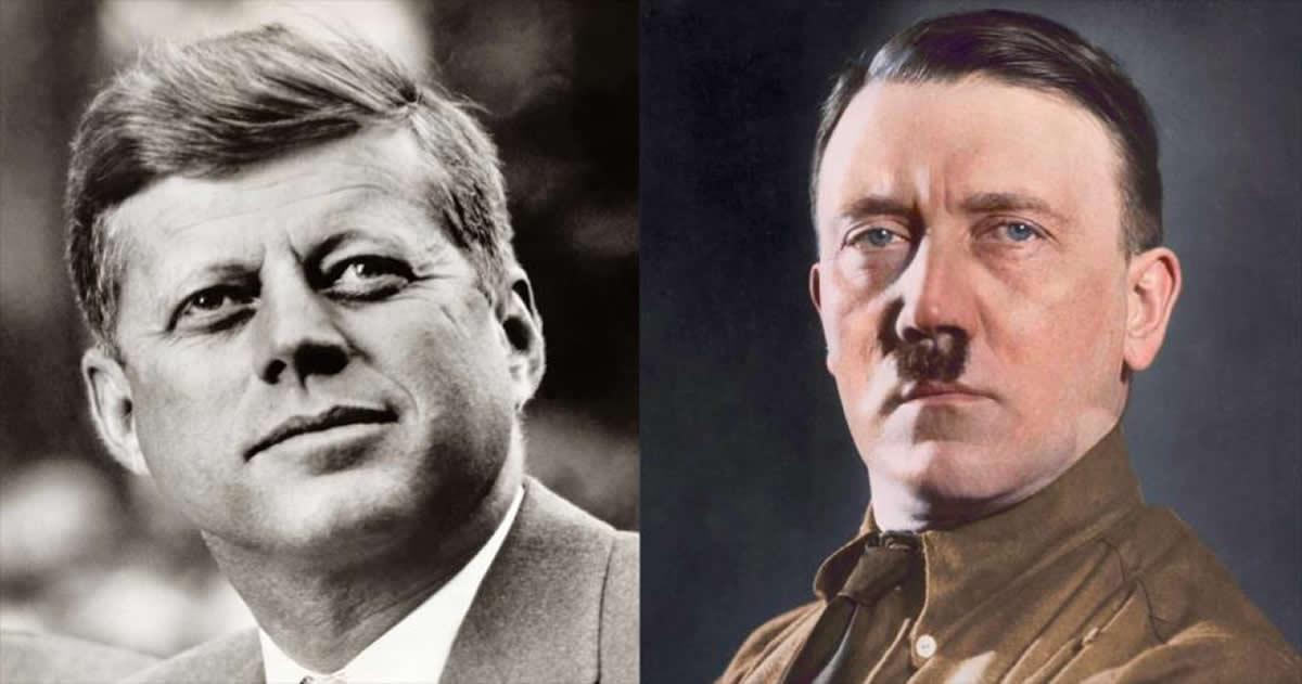 John F. Kennedy en su diario: «No hay evidencia de que el cuerpo encontrado fuera de Hitler»