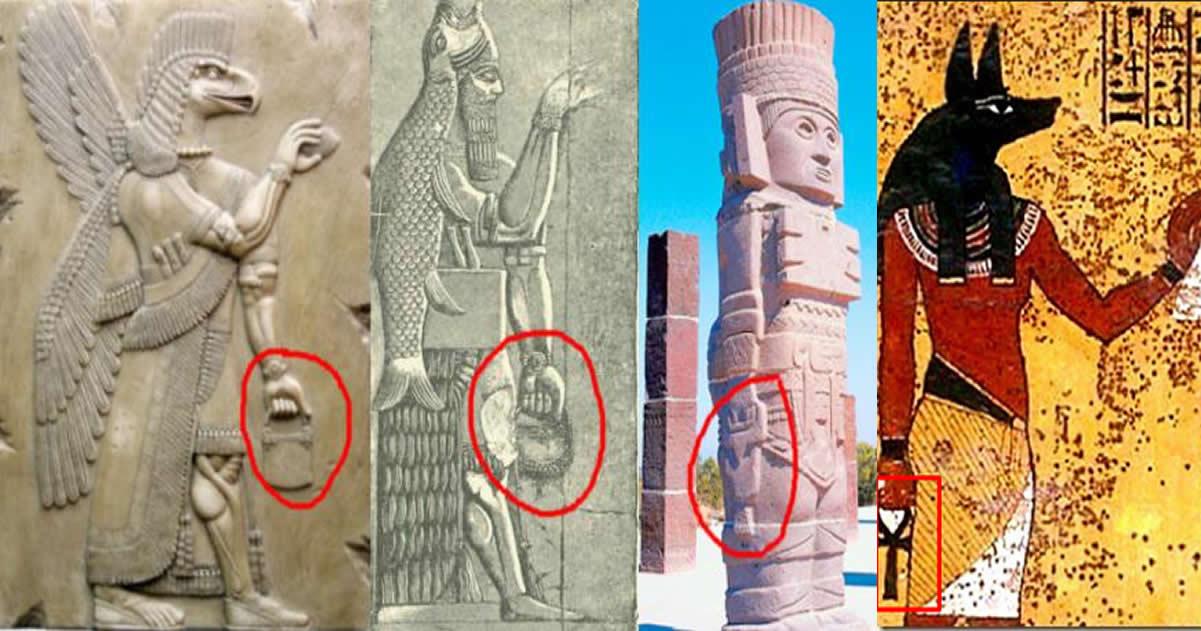 El secreto del «misterioso bolso» portado en tiempos antiguos. ¿Tecnología olvidada?