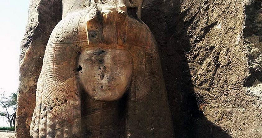 Fotografías: Descubren en Egipto una estatua de la abuela de Tutankamón