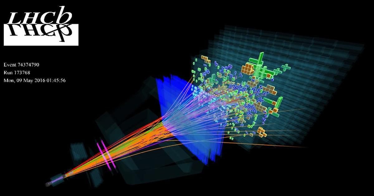 El Gran Colisionador de Hadrones ha identificado 5 nuevas Partículas Subatómicas