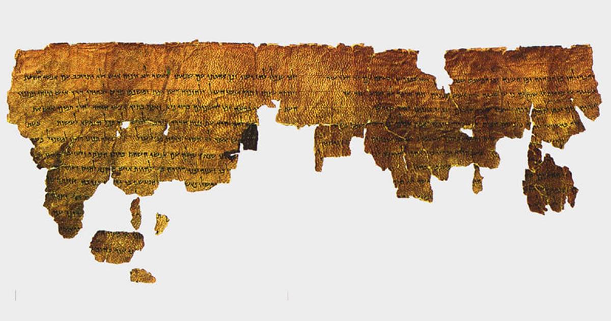 Antiguo manucristo de hace 2.000 años sugiere Gigantes vivieron en la Tierra