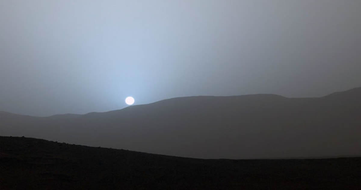 Curiosity logra captar las primeras nubes en forma de onda de gravedad en Marte