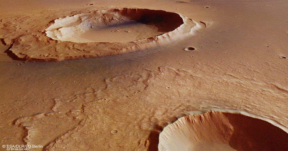 Sonda Mars Express descubre evidencias de un «Gran Diluvio» en Marte