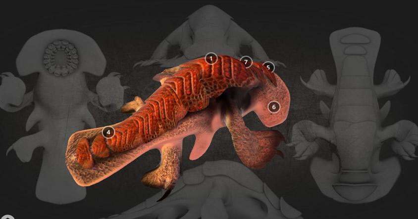 Vea el posible aspecto de criaturas alienígenas en animaciones tridimensionales