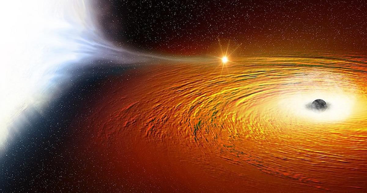 Encuentran una estrella que orbitaba un agujero negro a 1 por ciento de la velocidad de la luz