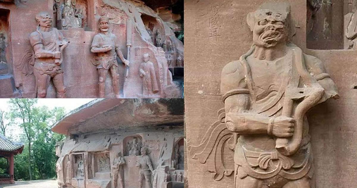 Antigua estatua descubierta en China muestran tecnología avanzada desconocida