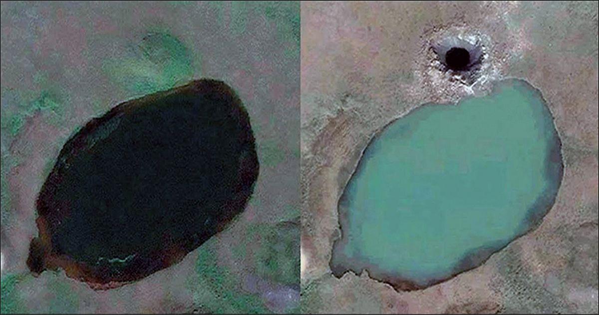 Científicos descubren más de 200 lagos llenos con metano en el ártico siberiano