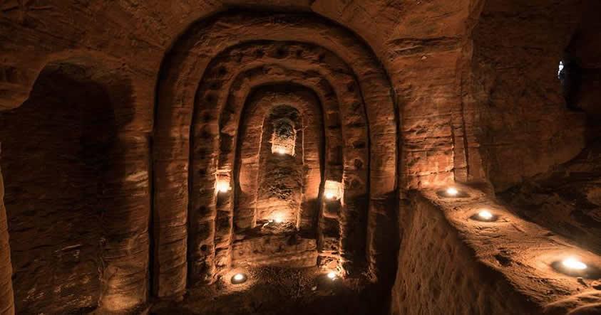 Encuentran caverna que ocultaba un antiguo templo de los Caballeros Templarios