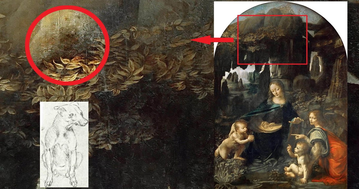 Investigadores hallan un mensaje oculto en un cuadro de Leonardo Da Vinci