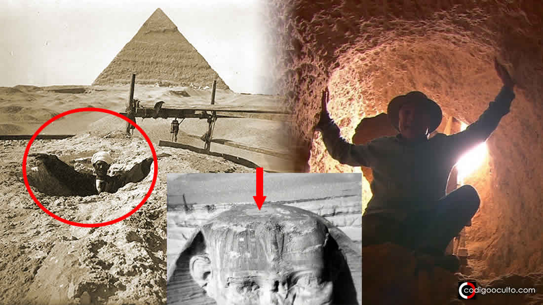 Los túneles ocultos de la Esfinge: acceso a una cámara subterránea
