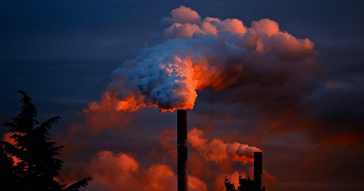 Record de CO2 en la atmósfera: 46% más que al iniciar la Revolución Industrial