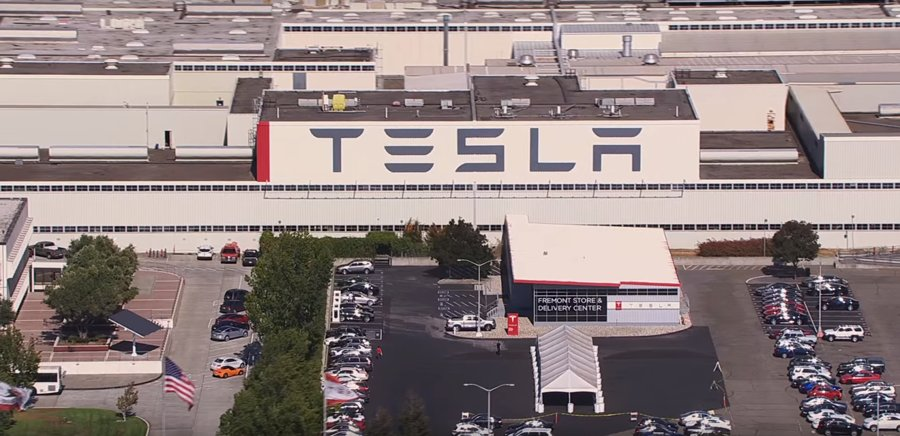 Fábrica de Tesla en Fremont, California.