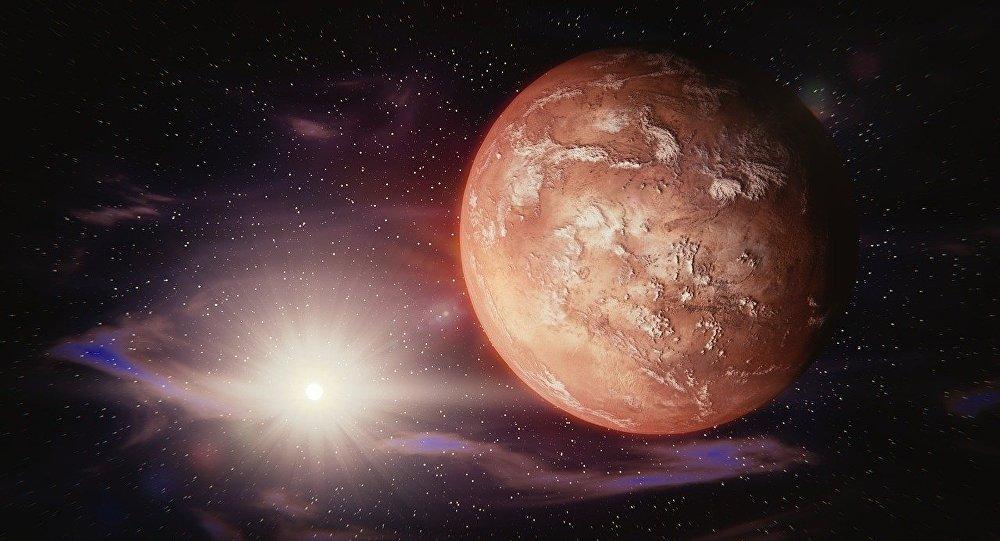 Órbita de Marte esconde los restos de un antiguo miniplaneta