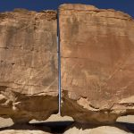 Megalito de Al-Naslaa: ¿Dividido por la mitad utilizando «láser» en la antigüedad?