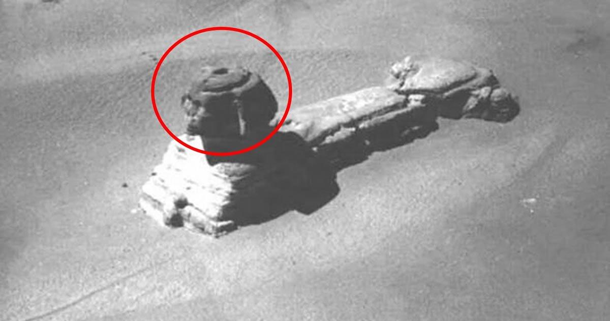 Las Cámaras Secretas debajo de la Esfinge: Antiguas fotografías develan la verdad