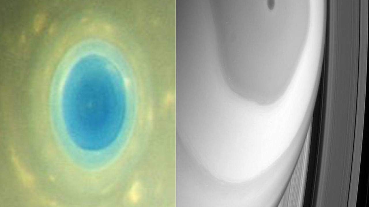 Más sorprendentes imágenes de la inmersión de Cassini en los anillos de Saturno