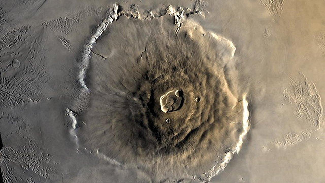 Actividad volcánica en el pasado de Marte pudo producir vida orgánica