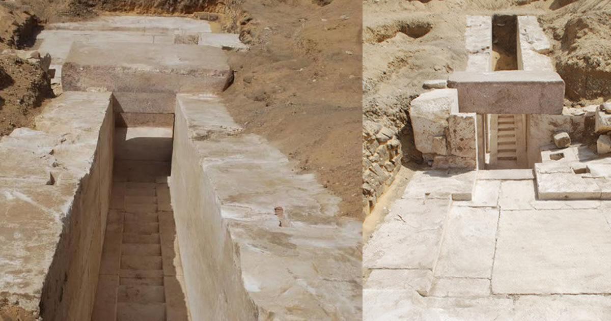 Descubren una misteriosa pirámide construida hace 3.700 años en Egipto