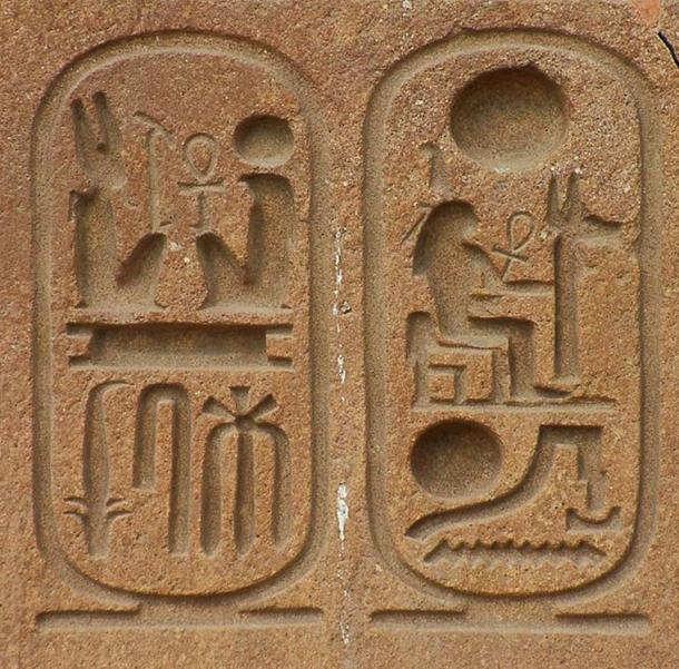 Cartuchos de Ramsés II en Tanis